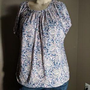 Chaps short sleeve shirt size 2x